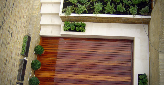 Contemporary Gardens With Decking Contemporary Garden